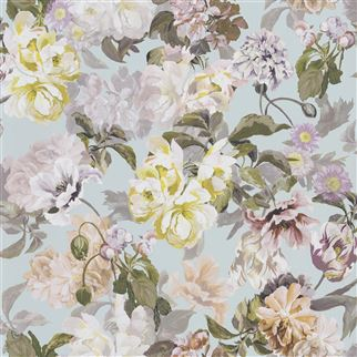 Designers Guild Delft Flower Duck Egg PDG1033/04