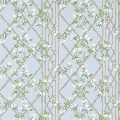 Zoffany Jasmine Lattice Sky 311332