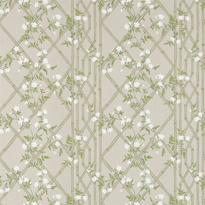 Zoffany Jasmine Lattice Silver 311331