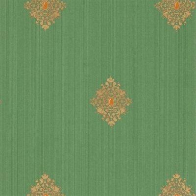 Zoffany Filigree Empire Green 310445