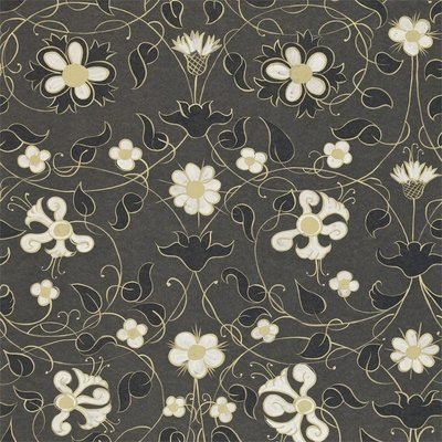 Zoffany Mille Fleurs Charcoal 310479