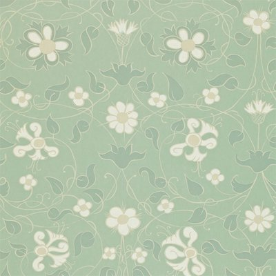Zoffany Mille Fleurs Norsk Blue 310441