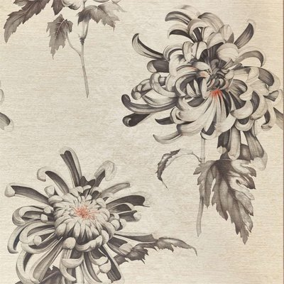 Zoffany Evelyn Koi Vine Black 312734