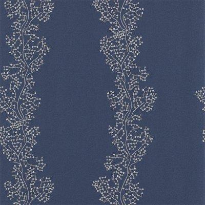 Sanderson Aegean Sparkle Coral Silver Indigo 213039