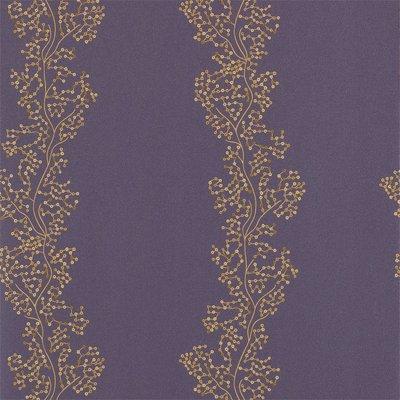 Sanderson Aegean Sparkle Coral Gold Purple 213037