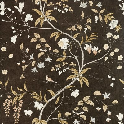 Zoffany Darnley Chambalon Trail 312850 Antique Gold Vine Black