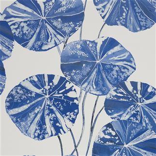 Designers Guild Brahmi Leaf Cobalt PDG1061/05