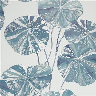 Designers Guild Brahmi Leaf Teal PDG1061/04