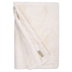 WinterHome Plaid Guanaco Cream 140 x 200