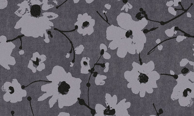 Flamant Suite III Velvet Metal Velvet Flower and Lin 18002