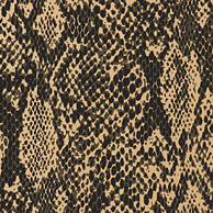 Thibaut Faux Resource Boa Black & Metallic Gold T75168