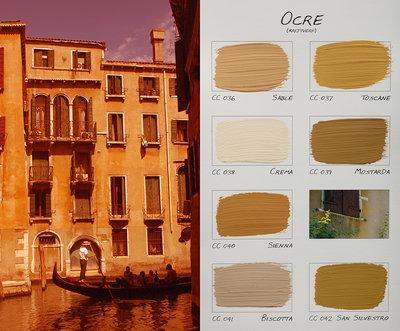 .Carte Colori kleurenkaart Ocre