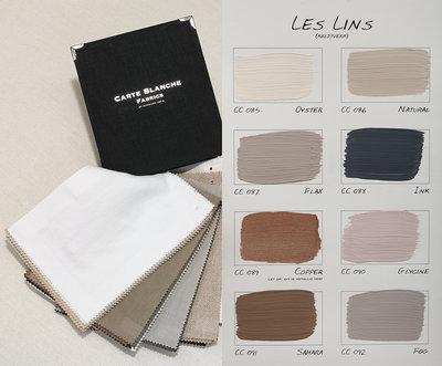 .Carte Colori kleurenkaart Les Lins