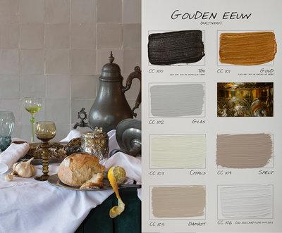 .Carte Colori kleurenkaart Gouden Eeuw