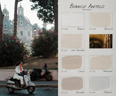 .Carte Colori kleurenkaart Bianco Antico