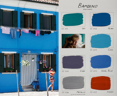 .Carte Colori kleurenkaart Bambino