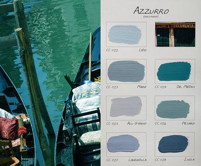 .Carte Colori kleurenkaart Azzurro