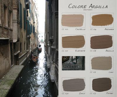 .Carte Colori kleurenkaart Colori Argilla