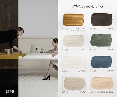 .Carte Colori kleurenkaart Metamorfosi