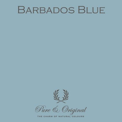 Pure & Original Marrakech Walls Barbados Blue.