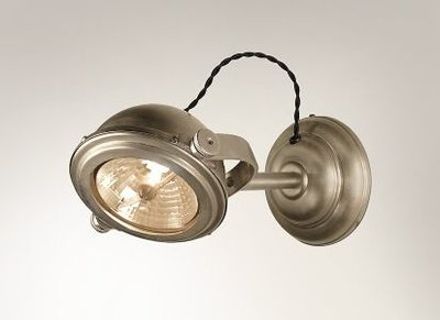 Frezoli Lighting wandlamp Lupia Nickel