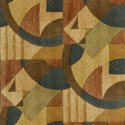 Zoffany Rhombi Abstract 1928 Antique Copper 312888