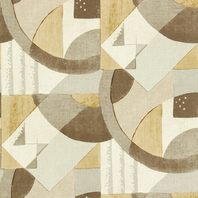 Zoffany Rhombi Abstract 1928 Taupe 312889