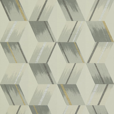 Zoffany Rhombi Empire Grey 312894