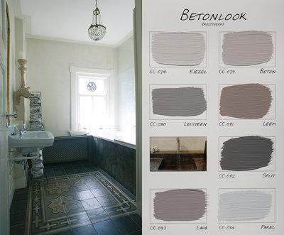 .Carte Colori kleurenkaart Betonlook