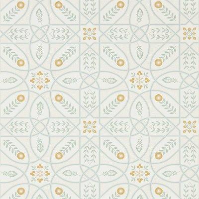 Morris & Co Brophy Trellis 216700 Ivory Sage