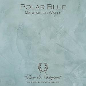 Pure & Original Marrakech Walls Polar Blue