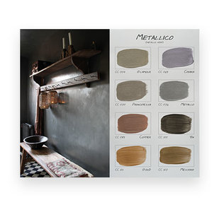 .Carte Colori kleurenkaart Metallico