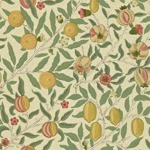 Morris & Co Fruit Beige/Coral/Gold 216484