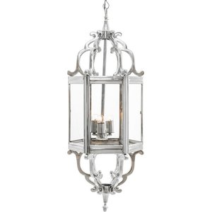 Asterion Nickel Hanging Lamp Artelore Home