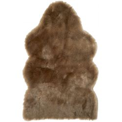 WinterHome Sheepskin Savanna Wolf 99028