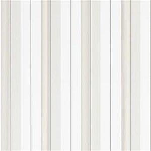 Ralph Lauren Aiden Stripe Naturel White