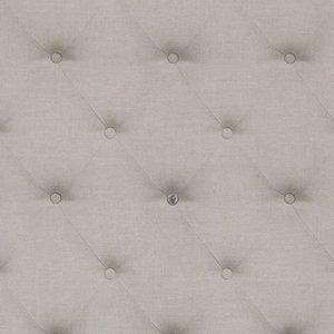 RM Wallpaper Anvers Linen Button Silver Grey