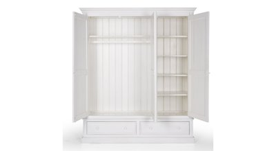Flamant Cupboard Louise Antique White
