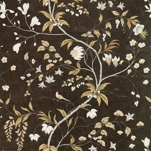 Zoffany Darnley Chambalon Trail 312850 Antique Gold /Vine Black