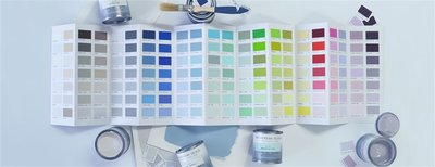 Designers Guild handgeschilderde kleurenkaart