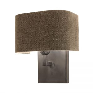 Frezoli wandlamp Nicora Mat Zwart L.187.1.600