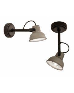 Frezoli wandlamp Mazz alu L.844.1.800