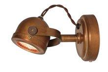 Frezoli wandlamp Daria Copper L.186.1.000