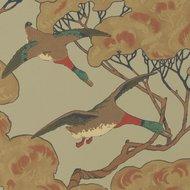 Mulberry Home Flying Ducks Sky Moss FG090.H22