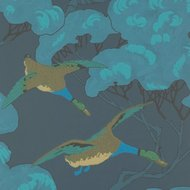 Mulberry Home Flying Ducks Indigo FG090.H10